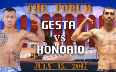 July 15 – Gesta vs. Honorio