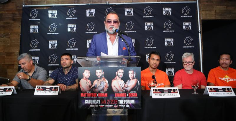 Media Press Conference – Linares vs. Gesta
